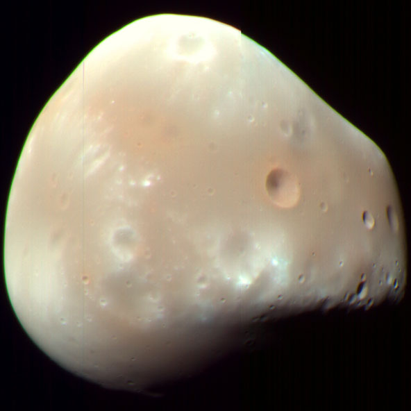 Deimos Mars moon