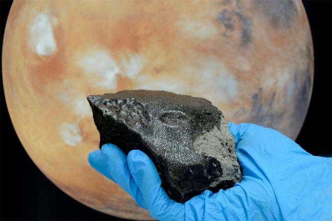 Tissint meteorite from mars